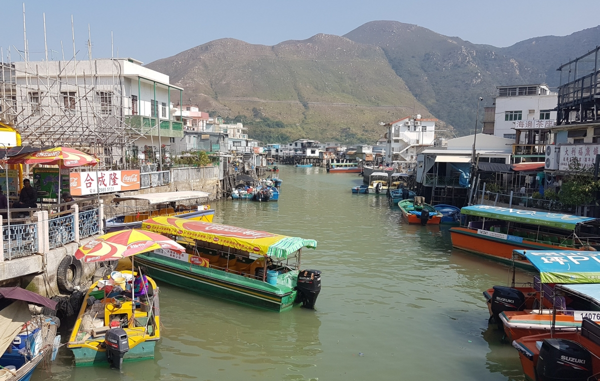Tai O: fishing village