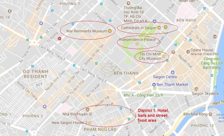 Map HCM