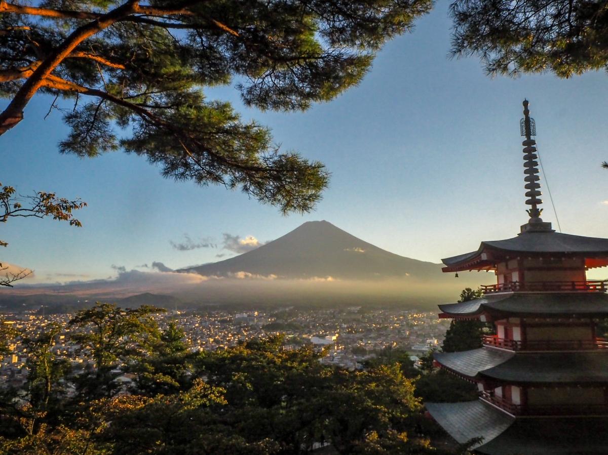 Chureito Pagoda: Stairways to theHeaven